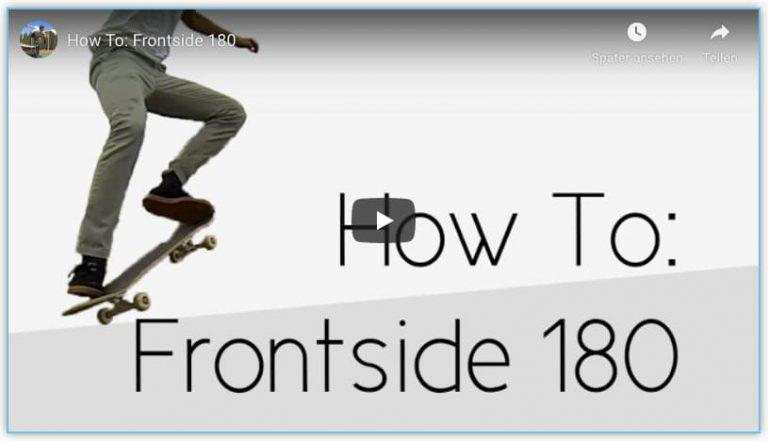 frontside 180