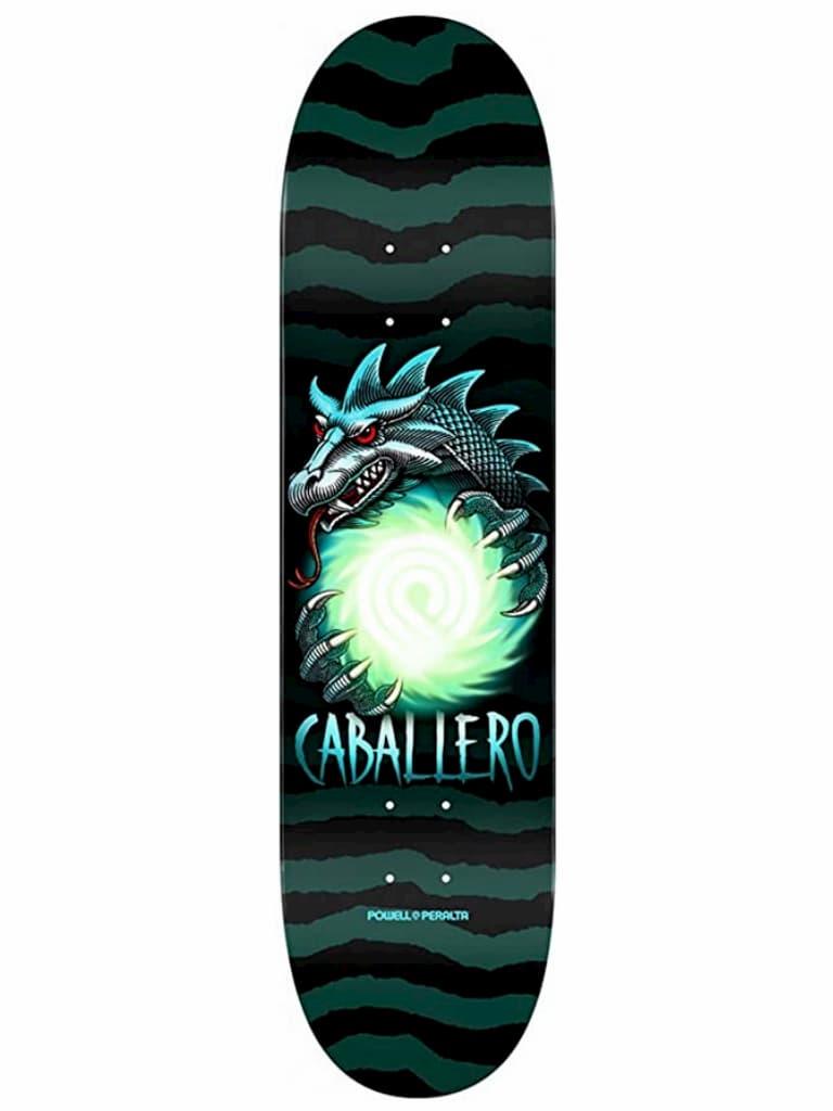 Powell Peralta Schwarz Grun Steve Cab Dragon Ball - 8.25 Inch Skateboard-Deck kaufen