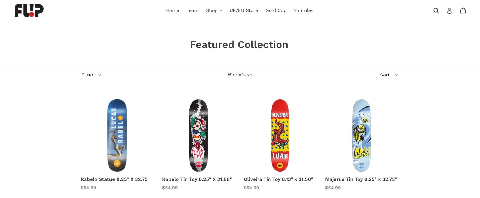 die besten flip skateboard decks