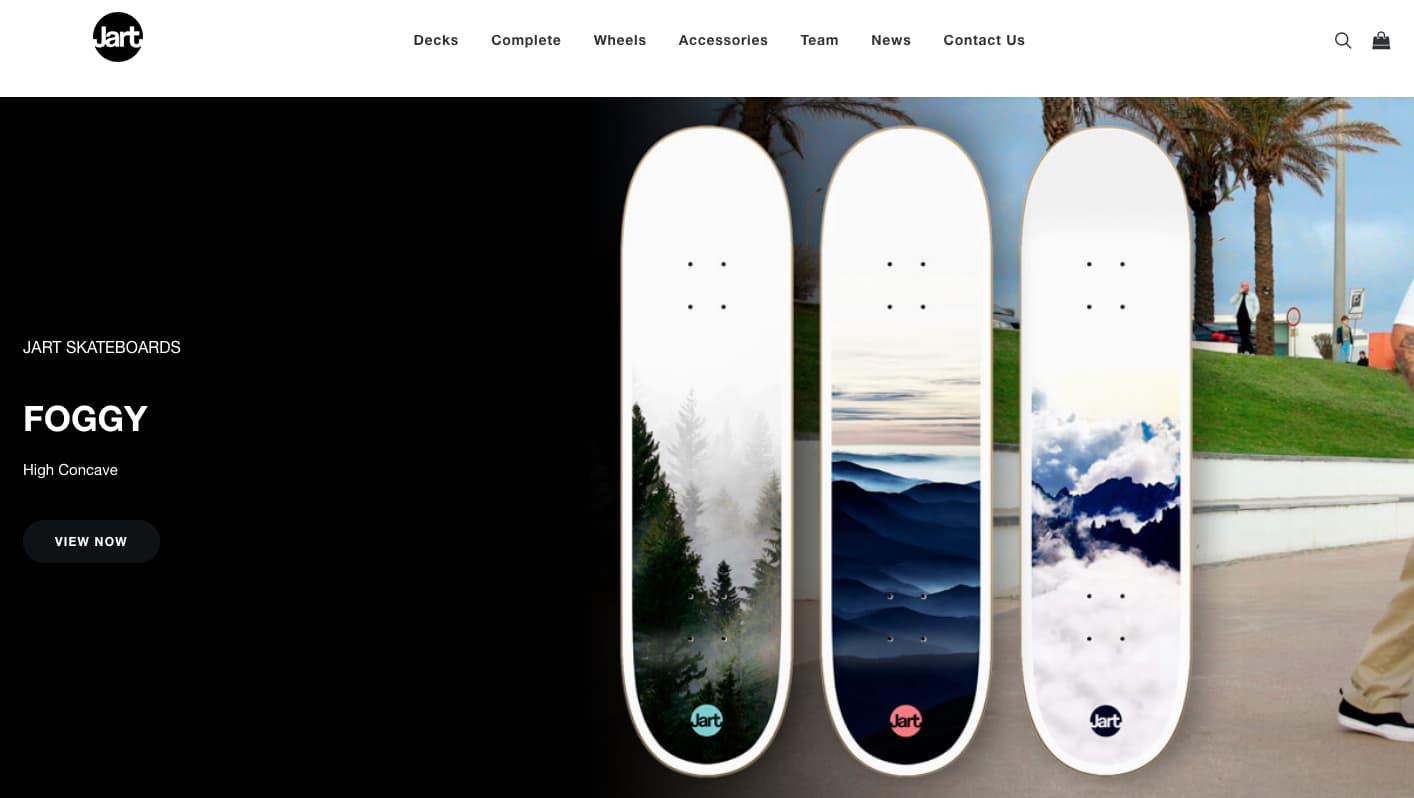 die besten jart skateboards