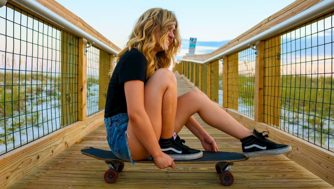 die besten mädchen skateboards
