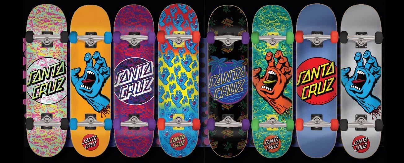 die besten santa cruz skateboards