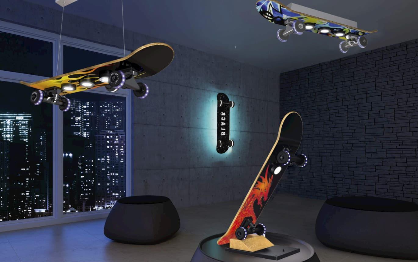 die besten skateboard lampen