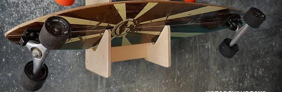 die besten longboard wandhalterungen