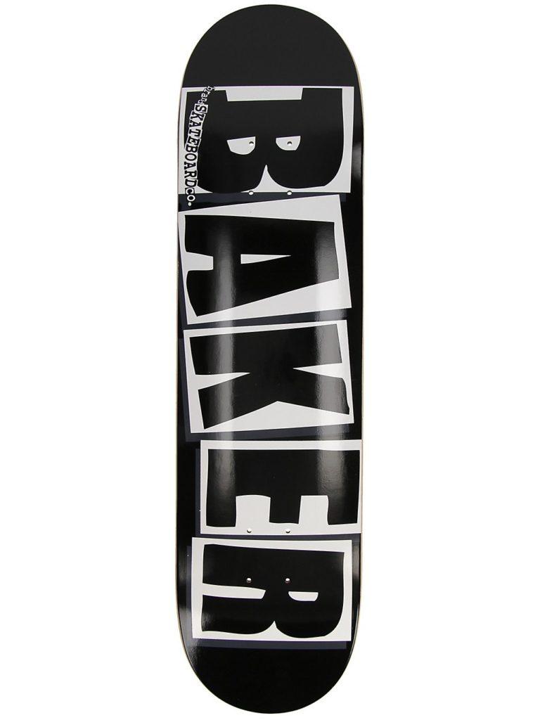"""Baker Brand Logo 8.0"""" Skateboard Deck black white kaufen"""