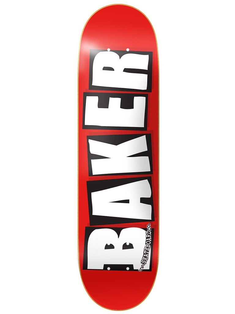 "Baker Brand Logo White 8.125"" Skate Deck uni kaufen"