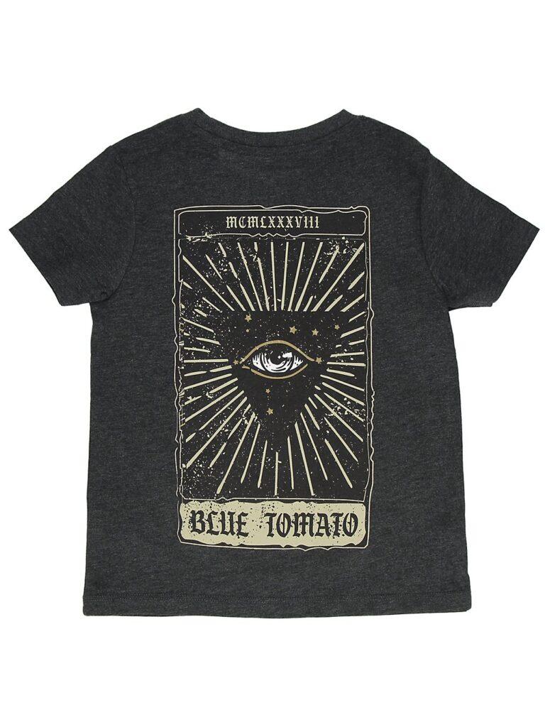 Blue Tomato The Eye T-Shirt dark heather grey kaufen
