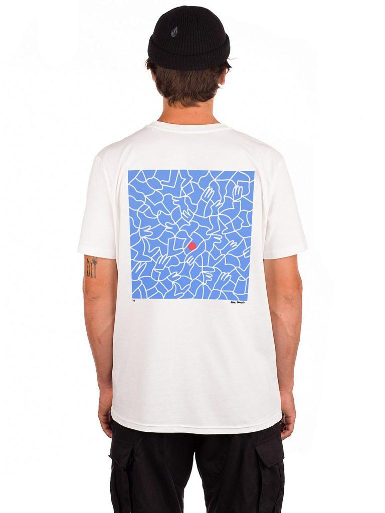 Blue Tomato X Lucas Beaufort 2 T-Shirt white kaufen