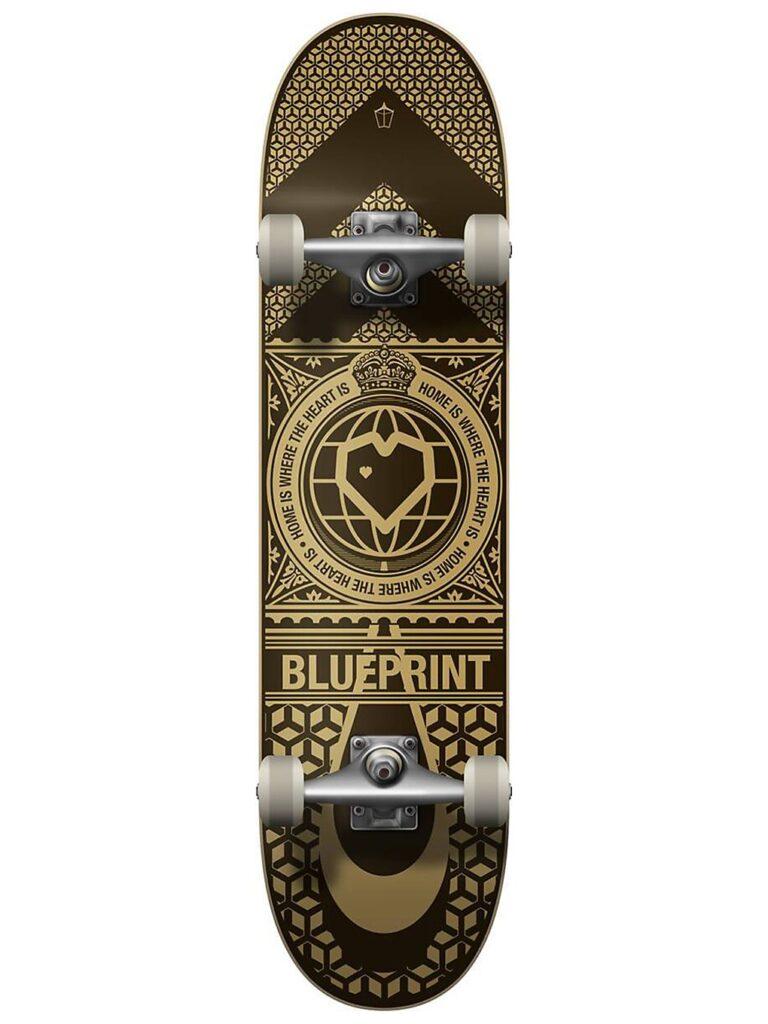 "Blueprint Home Heart 8.125"" Complete black / gold kaufen"