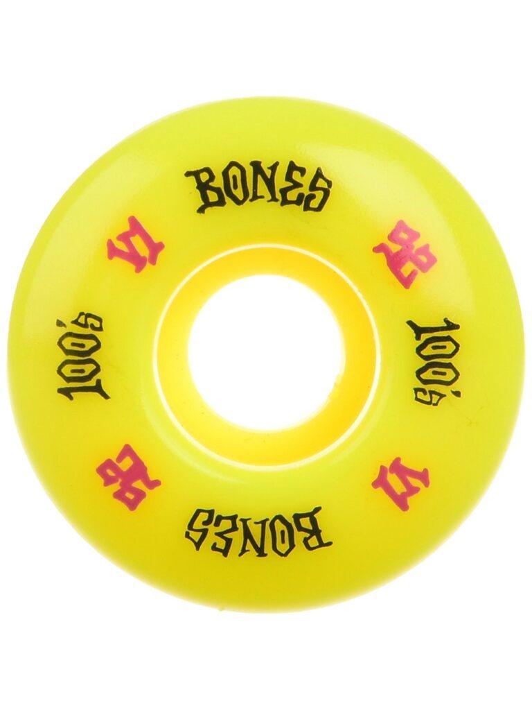 Bones Wheels 100's OG #17 V1 100A 52mm Wheels yellow kaufen
