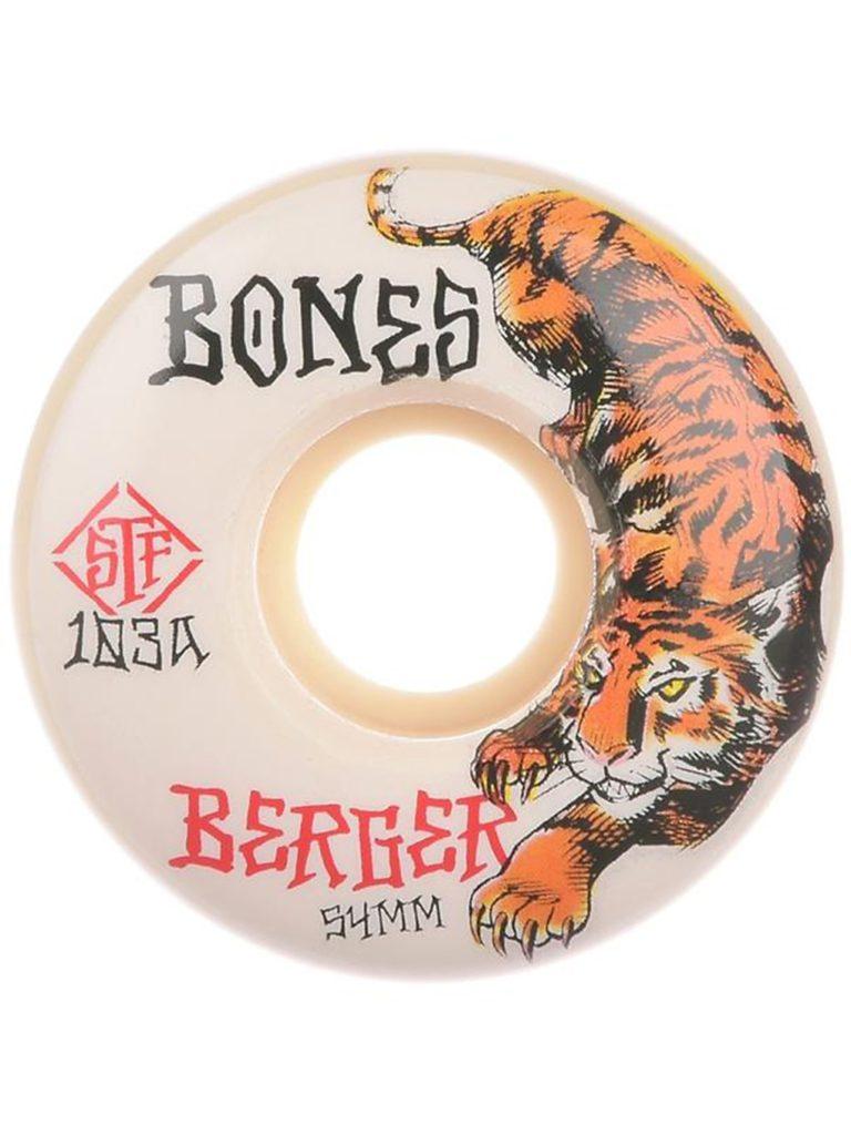 Bones Wheels STF Berger The Hunter 103A V3 Slims 54mm Wheels white kaufen