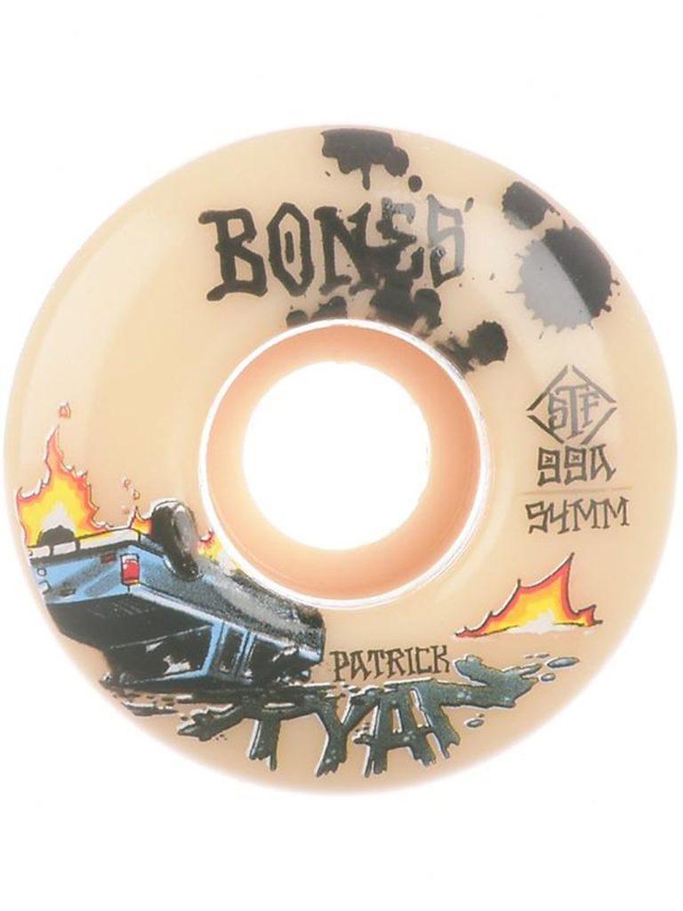 Bones Wheels STF Ryan Crash & Burn 99A V4 Wide 53mm Wheels white kaufen
