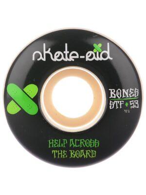 Bones Wheels Stf Skate Aid II 83B V1 54mm Wheels white kaufen
