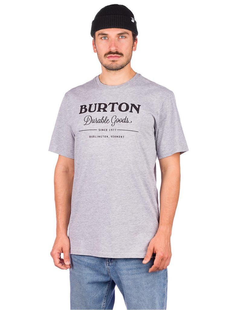 Burton Durable Goods T-Shirt gray heather kaufen