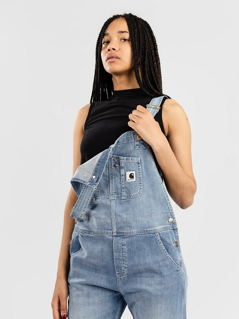 Carhartt WIP Bib Overall Dungarees blue light stone washed kaufen