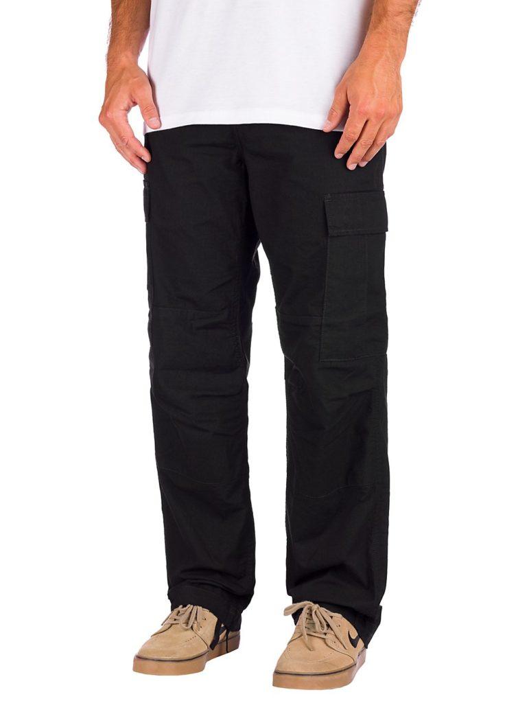 Carhartt WIP Regular Cargo Pants black rinsed kaufen