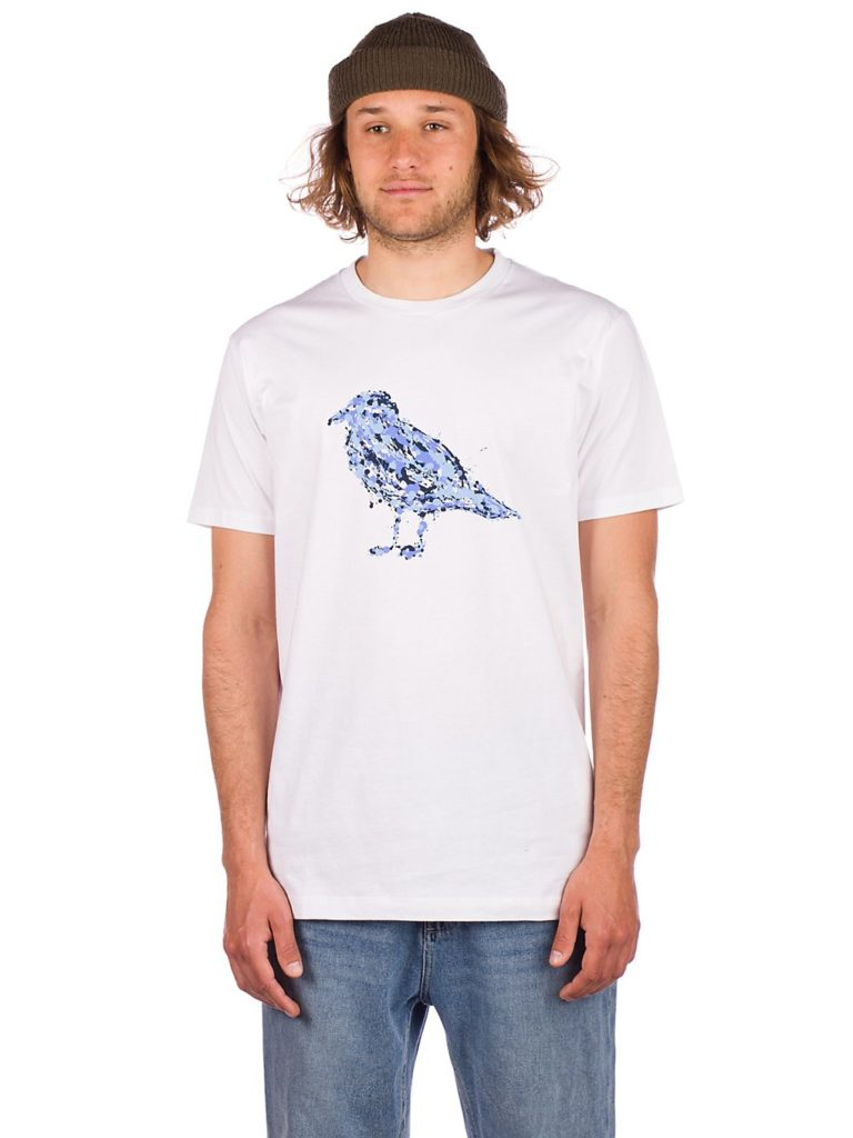 Cleptomanicx Jack Gullock T-Shirt white kaufen