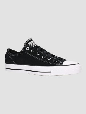 Converse Cons Chuck Taylor All Star Pro Suede Skate Shoes black / black / white kaufen