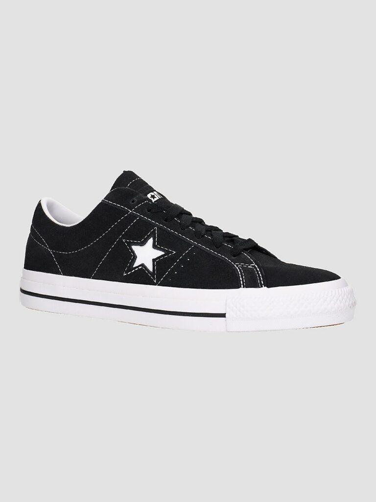 Converse One Star Pro Skate Shoes black / black / white kaufen