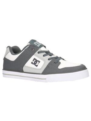 DC Pure Elastic Skate Shoes white / grey kaufen