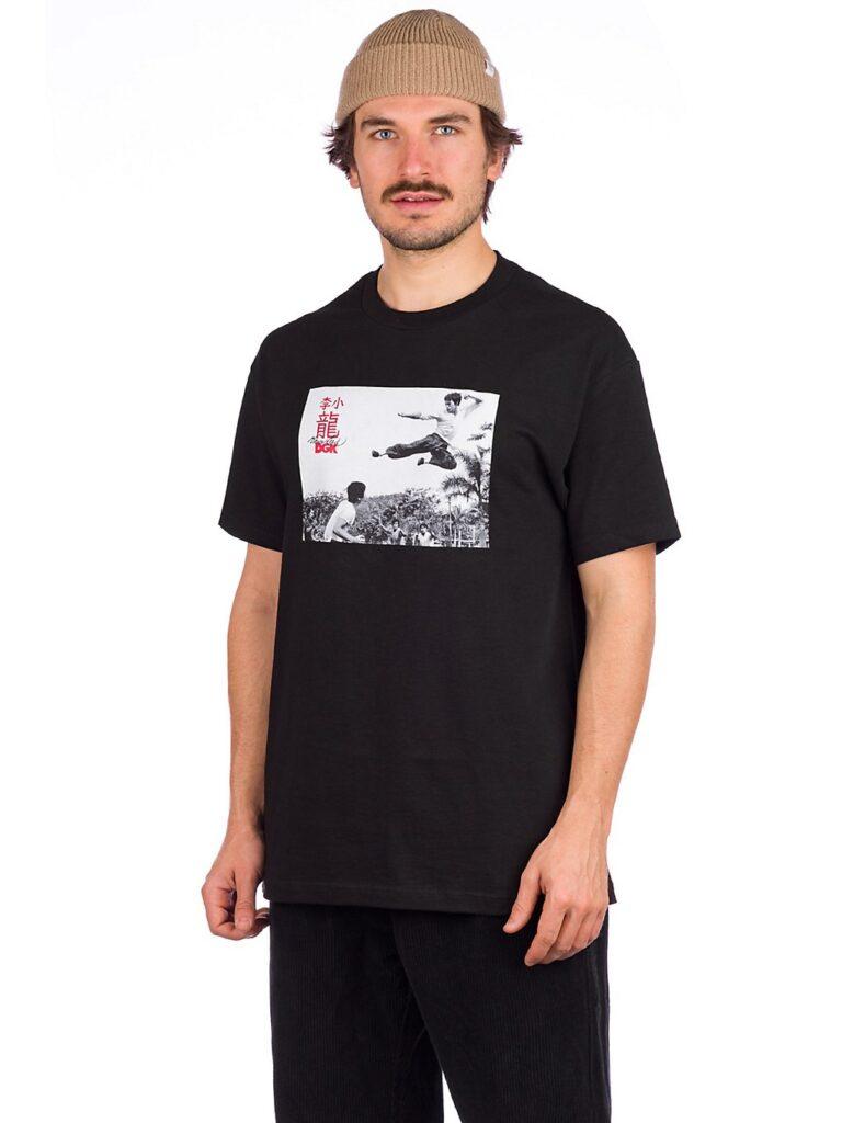 DGK X Bruce Lee Paradise T-Shirt black kaufen