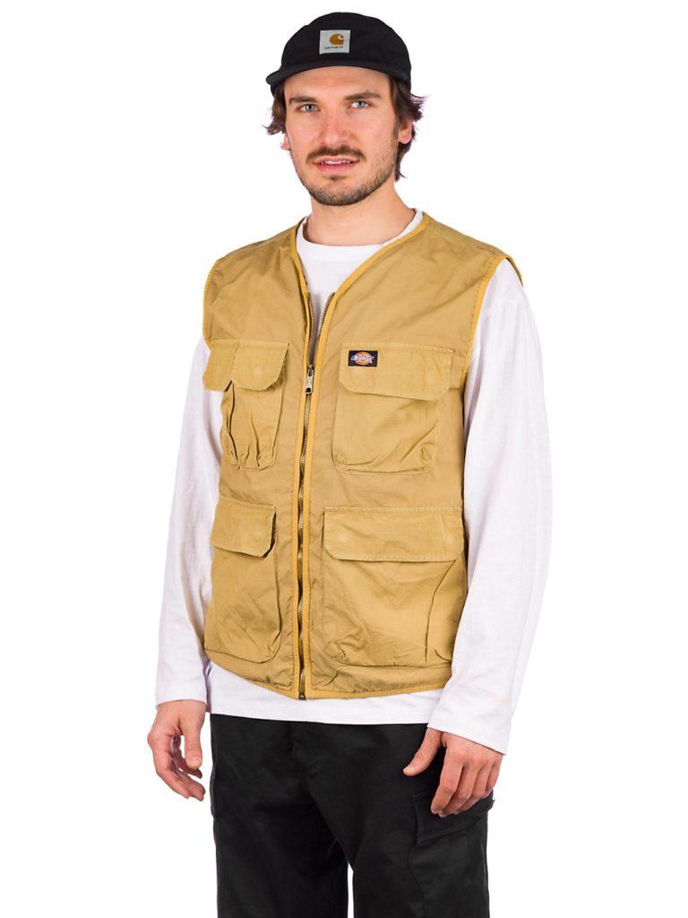 Dickies Glyndon Vest dark khaki kaufen