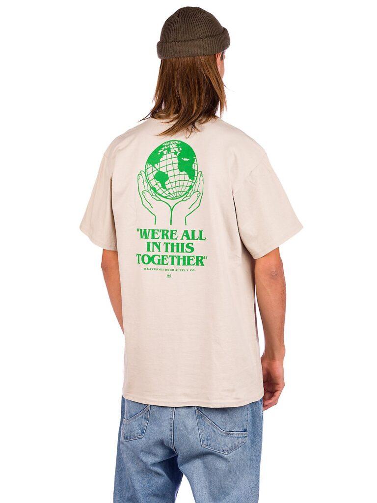 Dravus Hands Together T-Shirt light sand kaufen