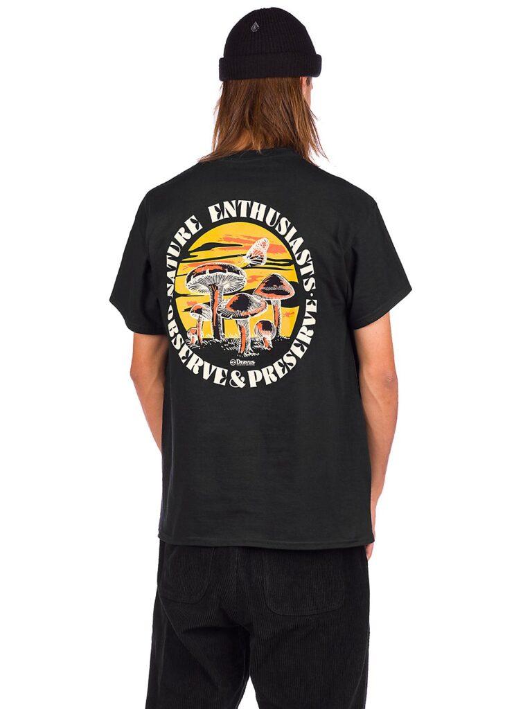 Dravus Into The Wild T-Shirt black kaufen