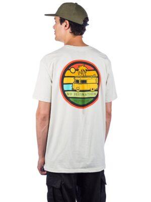 Dravus No Destinations T-Shirt creme kaufen