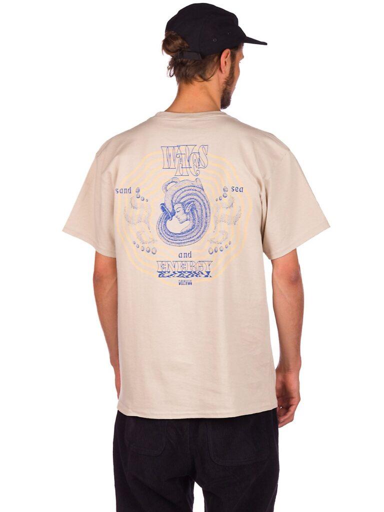 Dravus Waves of Energy T-Shirt natural kaufen