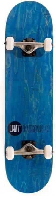 ENUFF LOGO STAIN Skateboard 2021 blue kaufen