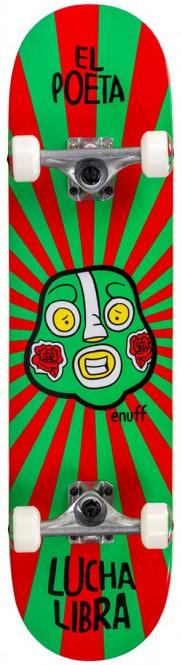 ENUFF LUCHA LIBRE Skateboard 2021 red/green kaufen
