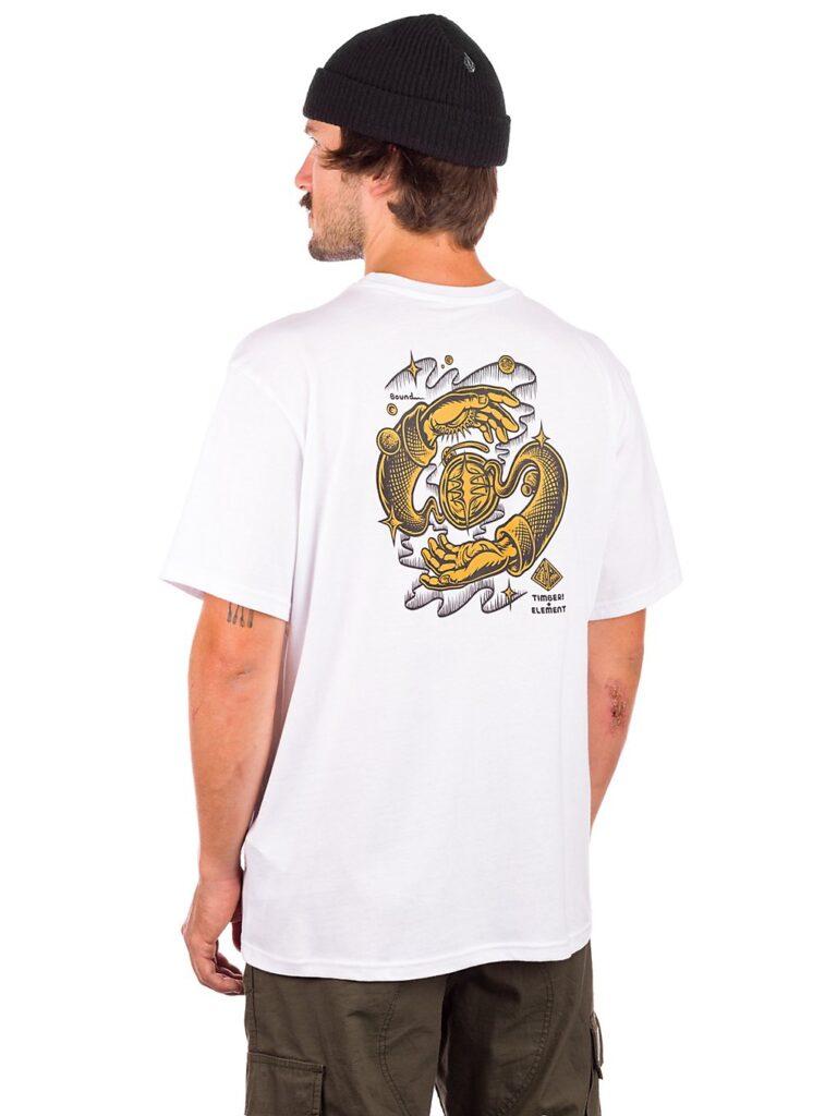 Element Rotation T-Shirt optic white kaufen