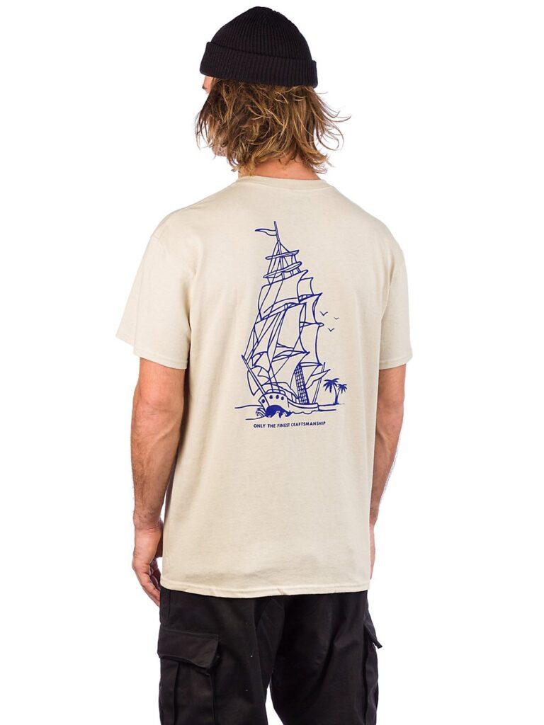 Empyre High Seas T-Shirt sand / navy kaufen