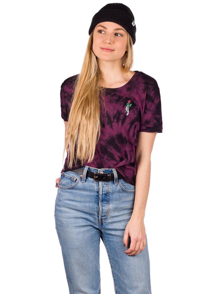 Empyre Yohanna T-Shirt color tie dye / prune white kaufen