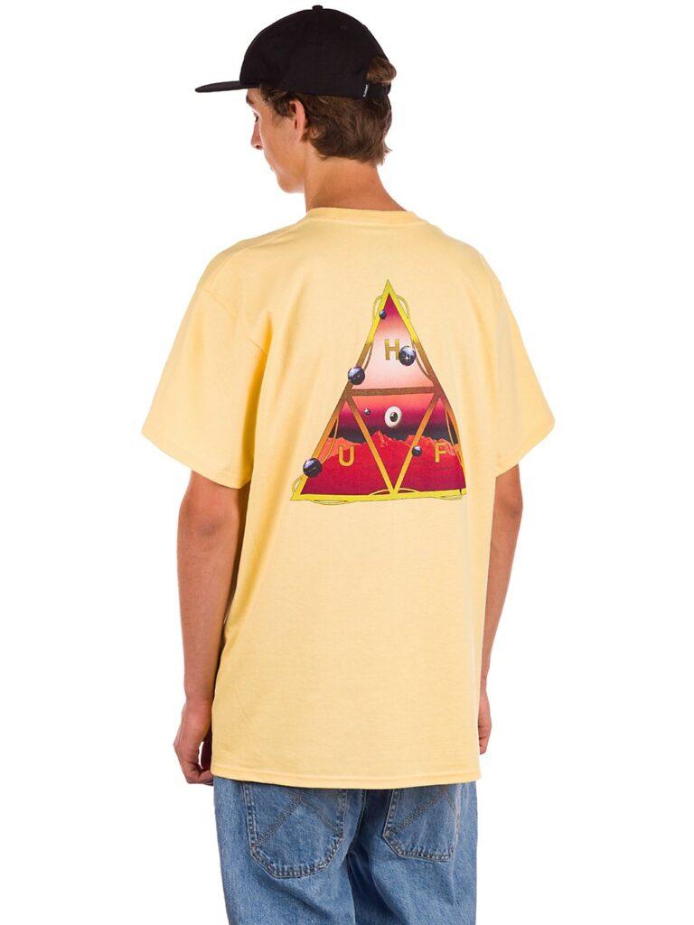 HUF Altered State TT T-Shirt washed yellow kaufen