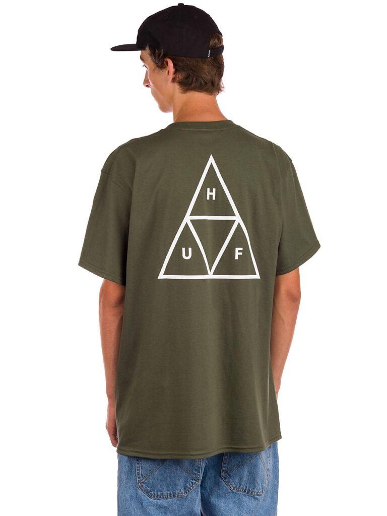 HUF Essentials TT T-Shirt olive kaufen