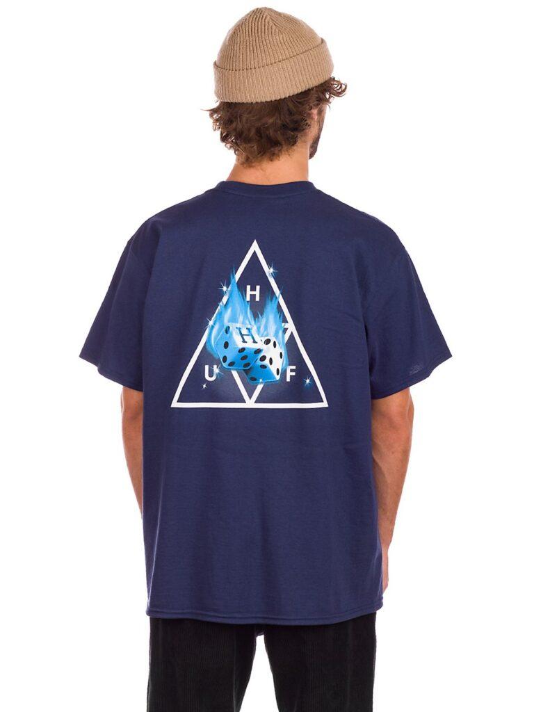 HUF Hot Dice TT T-Shirt navy kaufen