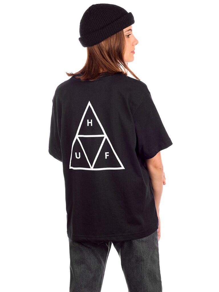 HUF Triple Triangle Relax T-Shirt black kaufen