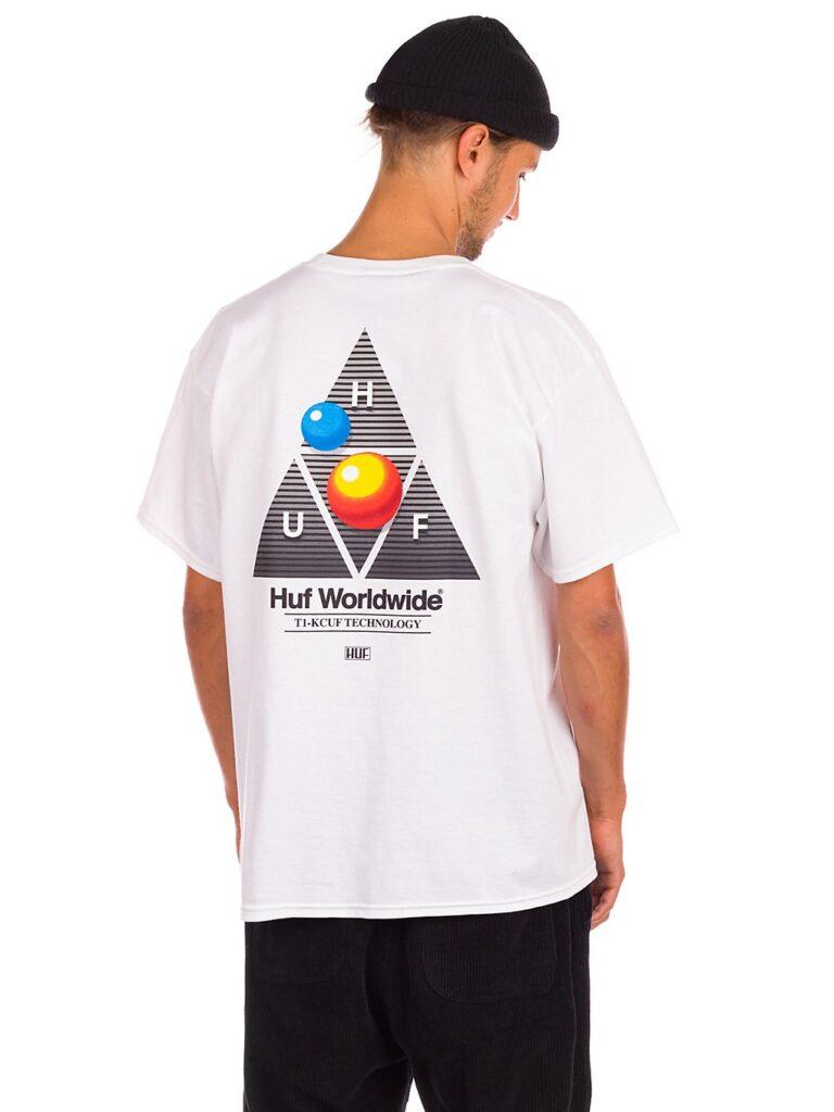 HUF Video Format TT T-Shirt white kaufen