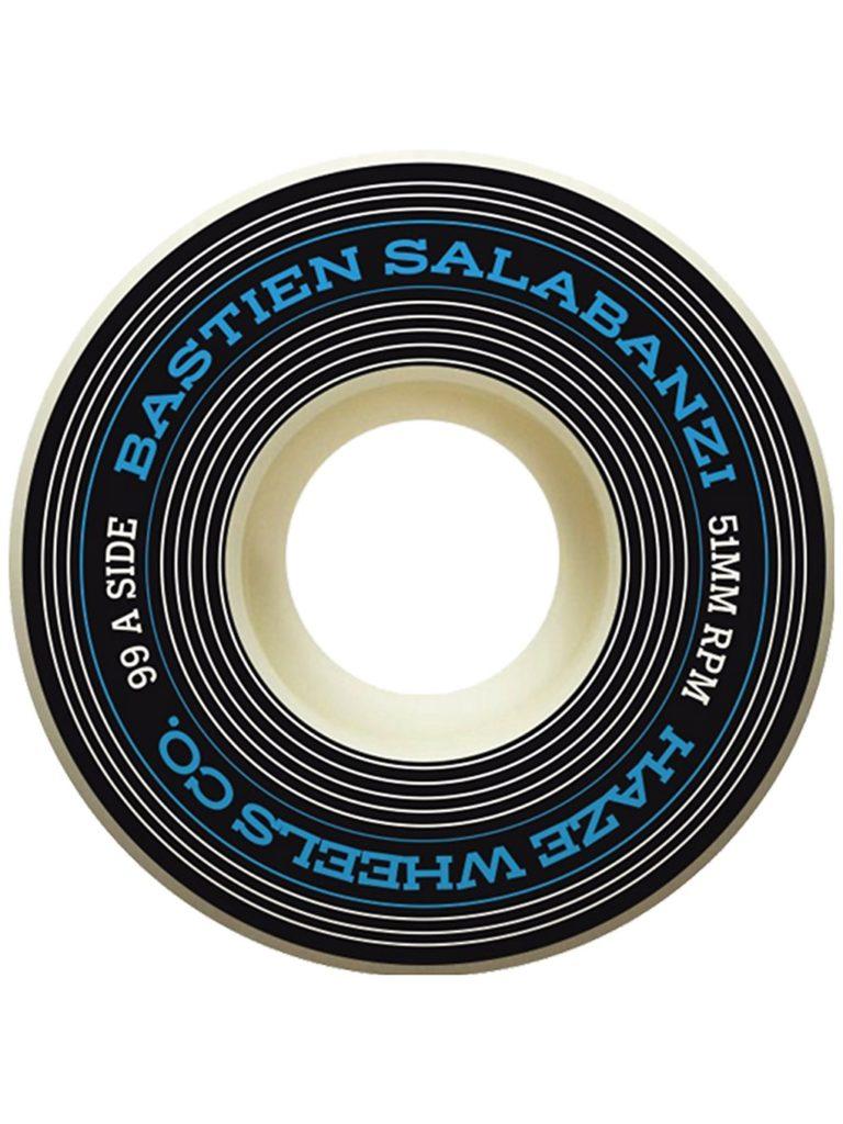 Haze Wheels Bastien Salabanzi 99a 51mm Wheels uni kaufen