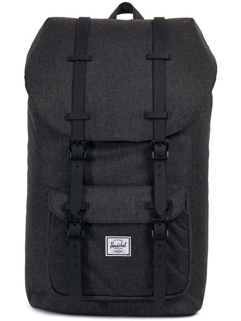 Herschel Little America Backpack black crosshatch / black kaufen