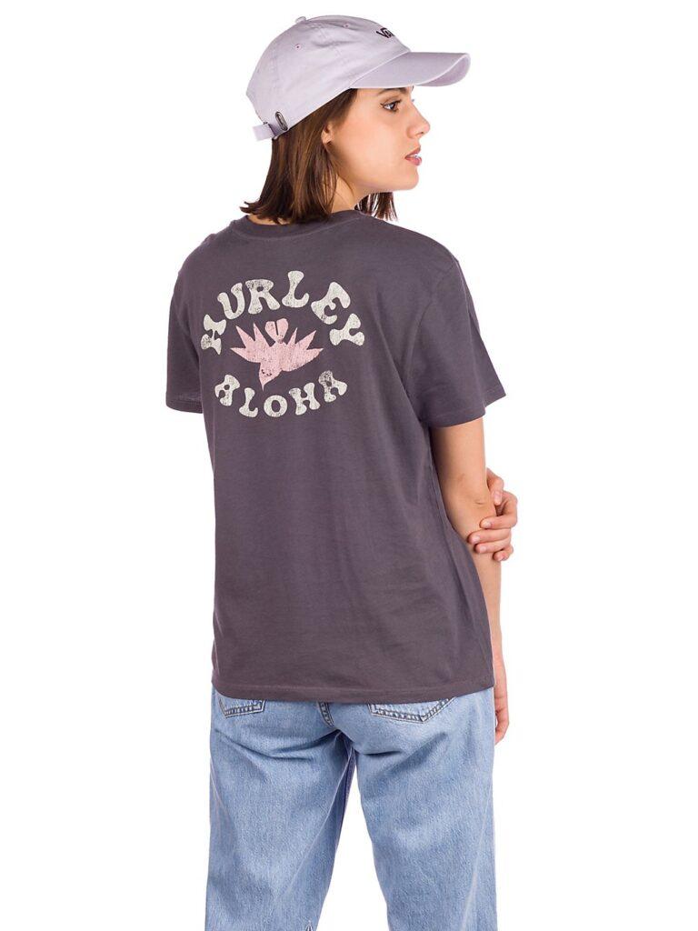 Hurley Wailer Washed Gf Crew T-Shirt thunder grey kaufen
