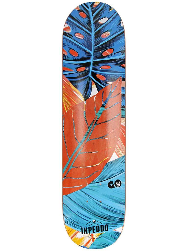 """Inpeddo X Gorilla 7.875"""" Skateboard Deck orange kaufen"""