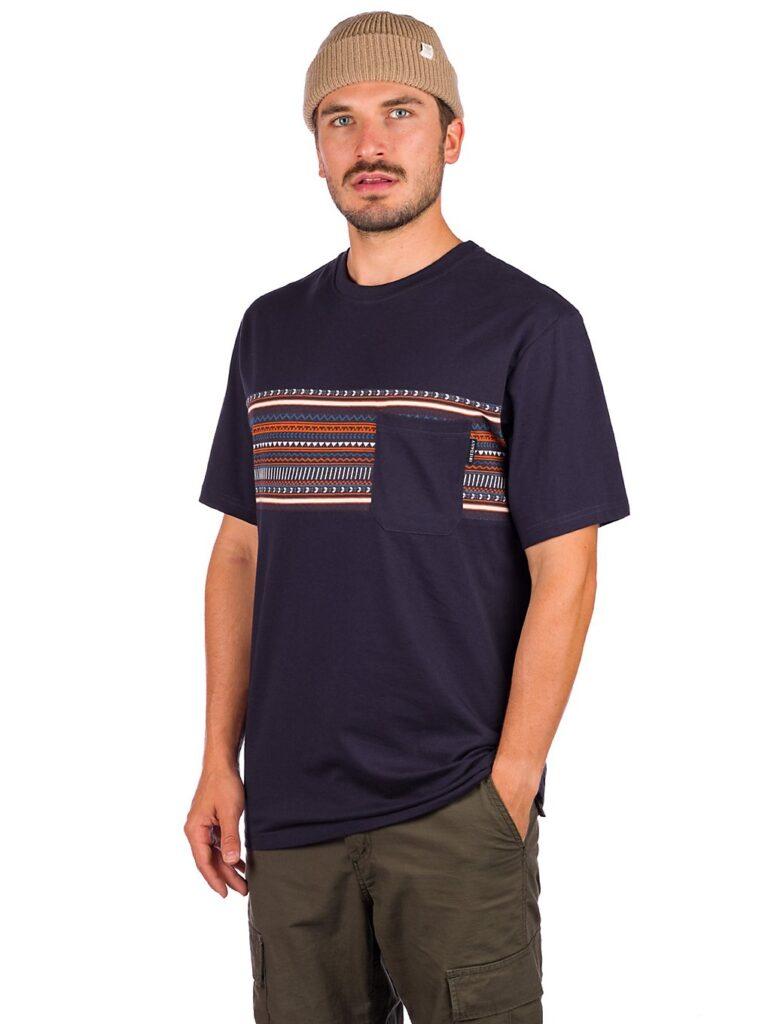 Iriedaily Chop Chop Pocket T-Shirt navy kaufen