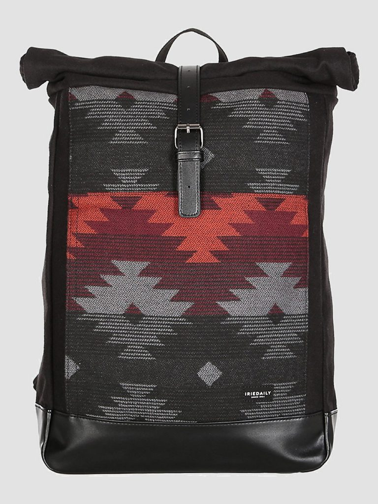 Iriedaily Santania Rolltop Backpack anthra red kaufen