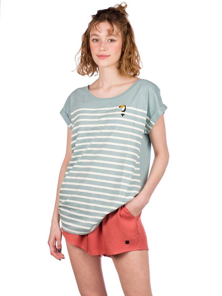 Iriedaily Tucan Stripe T-Shirt beryl kaufen