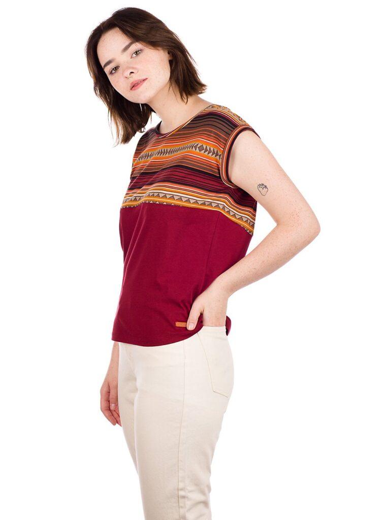 Iriedaily Vinta Block T-Shirt bordeaux kaufen