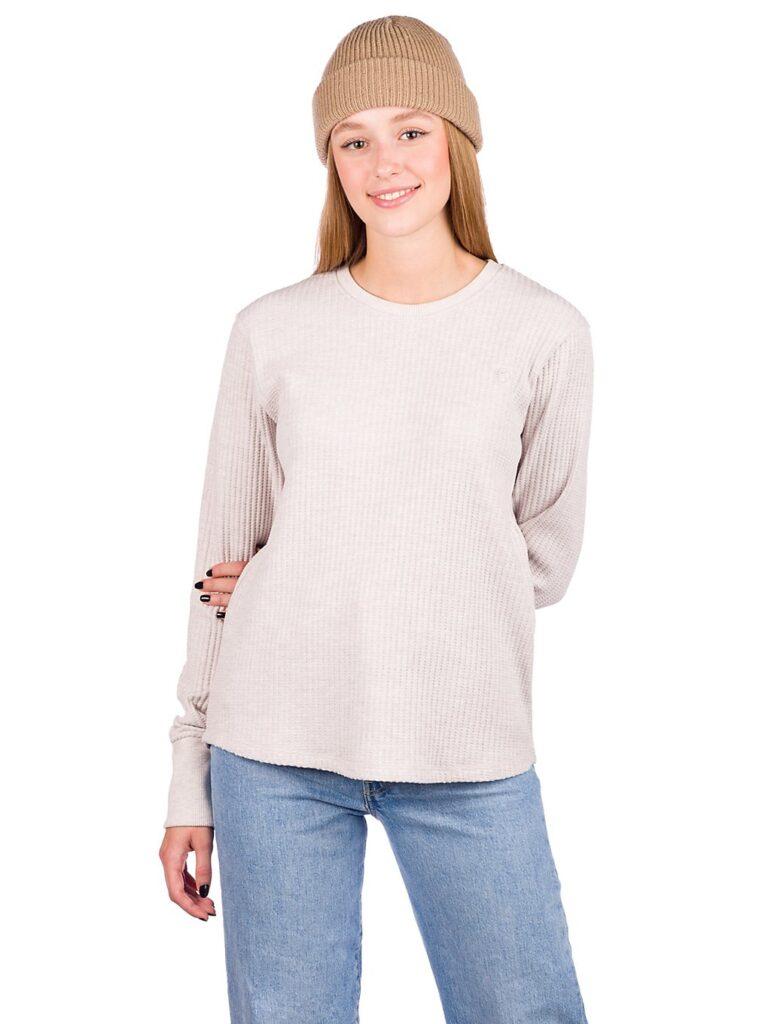 Kazane Brenda Long Sleeve T-Shirt oatmeal hthr kaufen