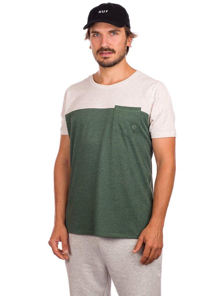Kazane Filip T-Shirt oatmeal htr / pineneedl htr kaufen